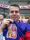 Vyškovští fanoušci byli vidět v pražské O2 Aréně už i při čtvrtfinále s Finskem.