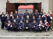 Sbor hasičů z Radslavic.