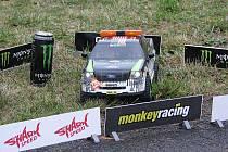 Závod RC Rally se jel ve Vyškově poprvé.