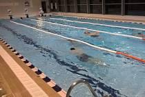 Bazén v Brankovicích nenavštěvují pouze místní, ale dojíždějí sem z širokého okolí.
