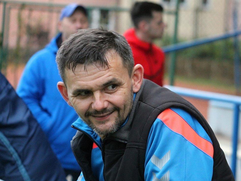 Trenér Josef Svoboda.