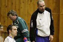Volejbalista Martin Hroch (vpravo).