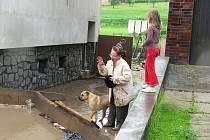Záplavy překvapily na mnohých místech Vyškovska.