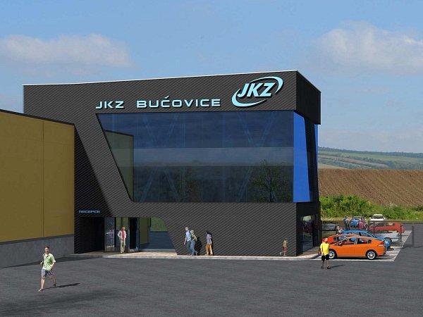 Součástí záměru společnosti JKZ je také výstavba administrativní budovy.