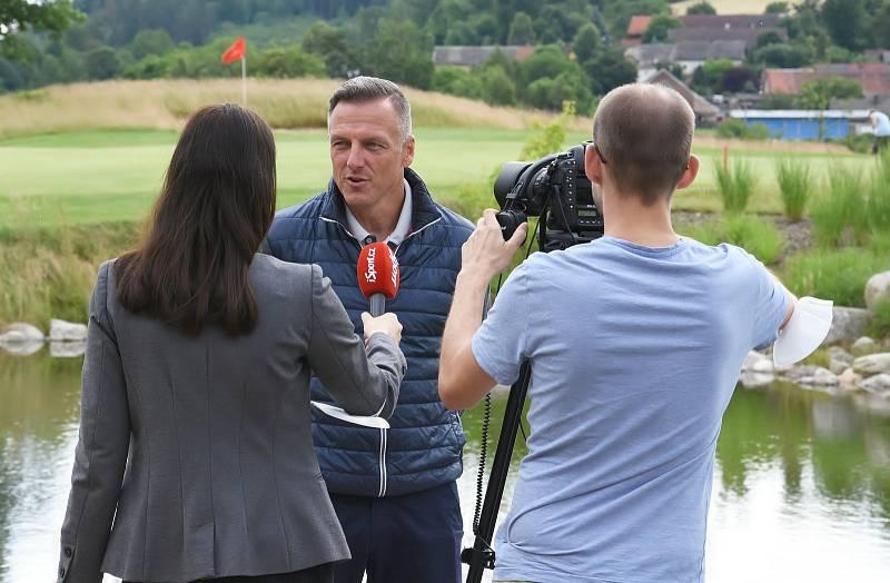 Na golfu v Kácově se vedlo lépe bývalým fotbalistům Slavie.