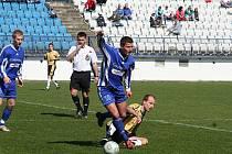 Jeden z domácích zápasů, na který Drnovičtí nevzpomínají v dobrém, hráli proti Bohdalicím (na snímku). Soupeřům nedali ani gól, zatímco sami třikrát inkasovali.