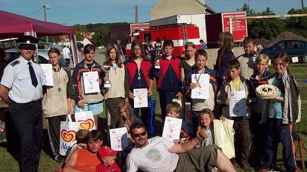 Sbor dobrovolných hasičů v Hlubočanech.