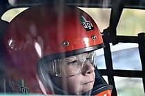 Letošním talentem roku za volanty závodních aut byl vyhlášen dvanáctiletý Michal Žáček z Křenovic.