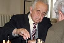 Nestor šachu na Vyškovsku Miroslav Jandl oslaví v příštím roce čtyřiaosmdesáté narozeniny.