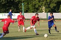 Fotbalisté Dědic přivítají v prvním domácím utkání jara mladý celek Veselí nad Moravou. Chtějí potvrdit úlohu lídra jihomoravského přeboru a vyhrát.