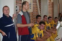 Futsal, krajský přebor: lavička Sappora Manerov