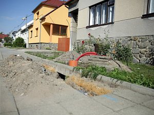 V Nerudově ulici ve Slavkově u Brna budou nové LED lampy.