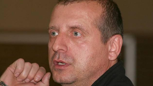 Šéf futsalistů Vyškova Libor Šmarda.
