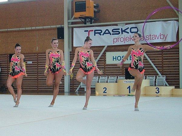 Gymnastky Traska prodloužily svoji medailovou sérii zmistrovství republiky.