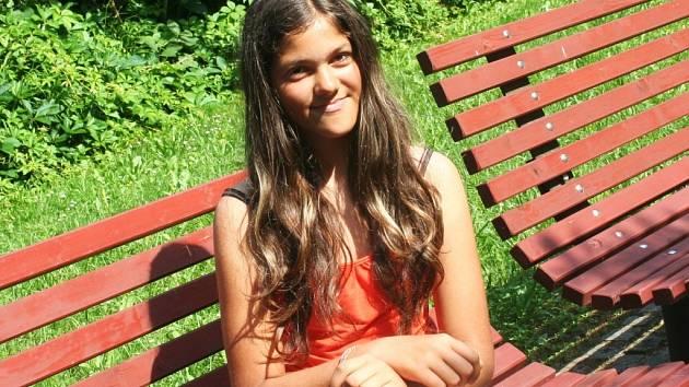 Mladá bučovická žokejka Lucie Kumarová se připravuje na další mistrovství republiky.
