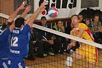 V utkání 2. kola Českého poháru prohráli volejbalisté Sokola Bučovice s extraligovým ČZU Praha 1:3.