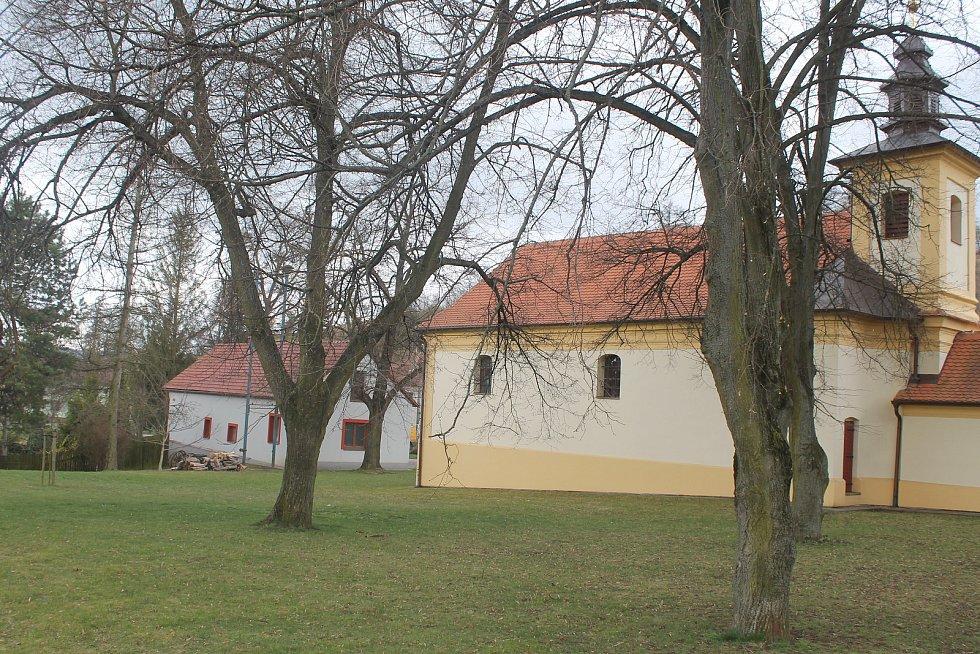 Kostel svatého Floriána.