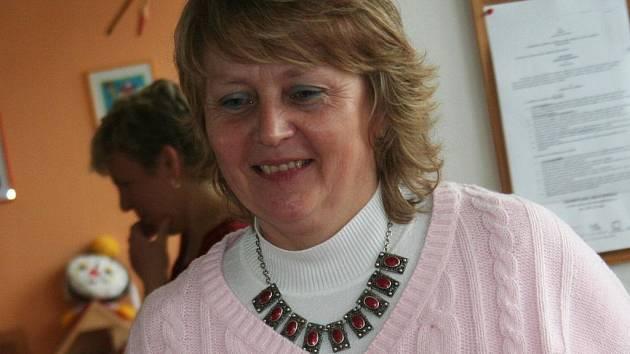 Jana Otáhalová, vedoucí folklorního souboru Pantlék z Němčic nad Hanou