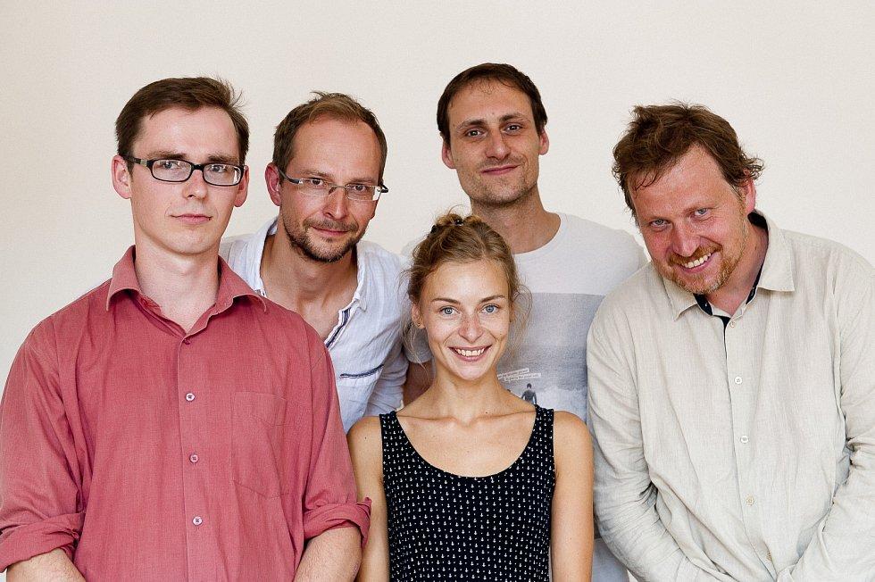 Vlevo na snímku režisér Vít Zapletal, vpravo pak vyškovský producent Radim Procházka.