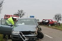 Dopravní nehoda u Dětkovic.
