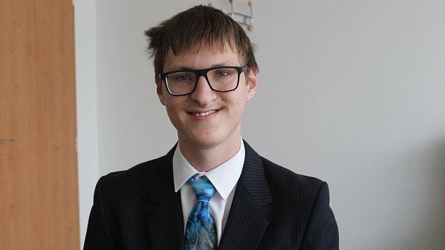 Martin Orság se připravuje na mezinárodní soutěž v astronomii.