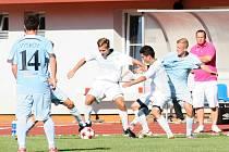 Ve druhém kole moravskoslezské divize D remizovali fotbalisté MFK Vyškov s Tatranem Bohunice 1:1.