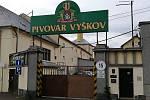 Vyškovský pivovar je v současnosti uzavřený.