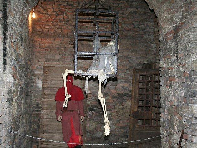 Podzemí slavkovského zámku. Archivní snímek.