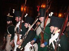 Ve Slavkově u Brna se konala další rekonstrukce dobové bitvy. Přihlíželi ji tisíce lidí.