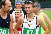 Běžec Tomáš Steiner.