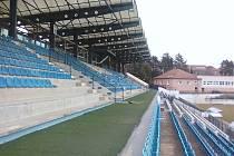 Rekonstruované prostory ve sportovním areálu.