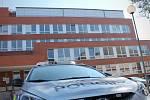 POLICEJNÍ SÍDLO. Bývalá základna komunistické strany ve Vyškově dnes slouží státní policii.