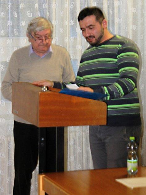 Dlouholetý funkcionář Okresního fotbalového svazu Vyškov Karol Gmitro.