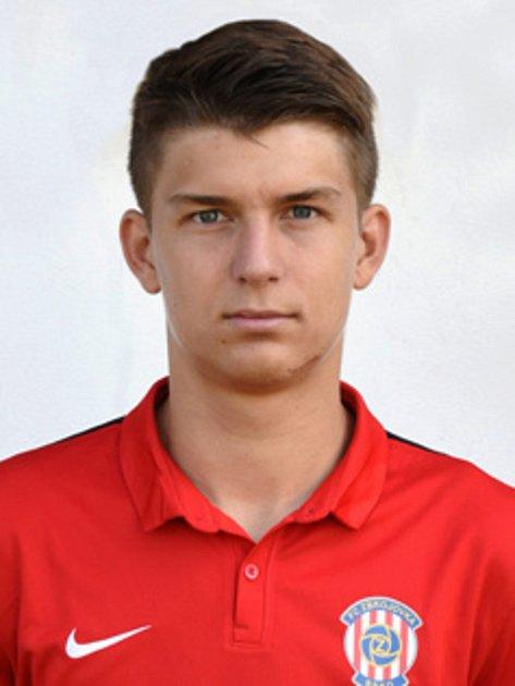 Fotbalista Marek Vintr vzápasech Zbrojovky Brno.