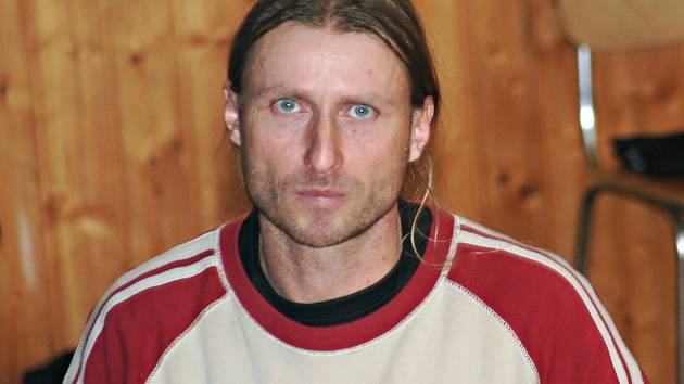 Hrající vedoucí volejbalistů Vyškova Tomáš Luska.