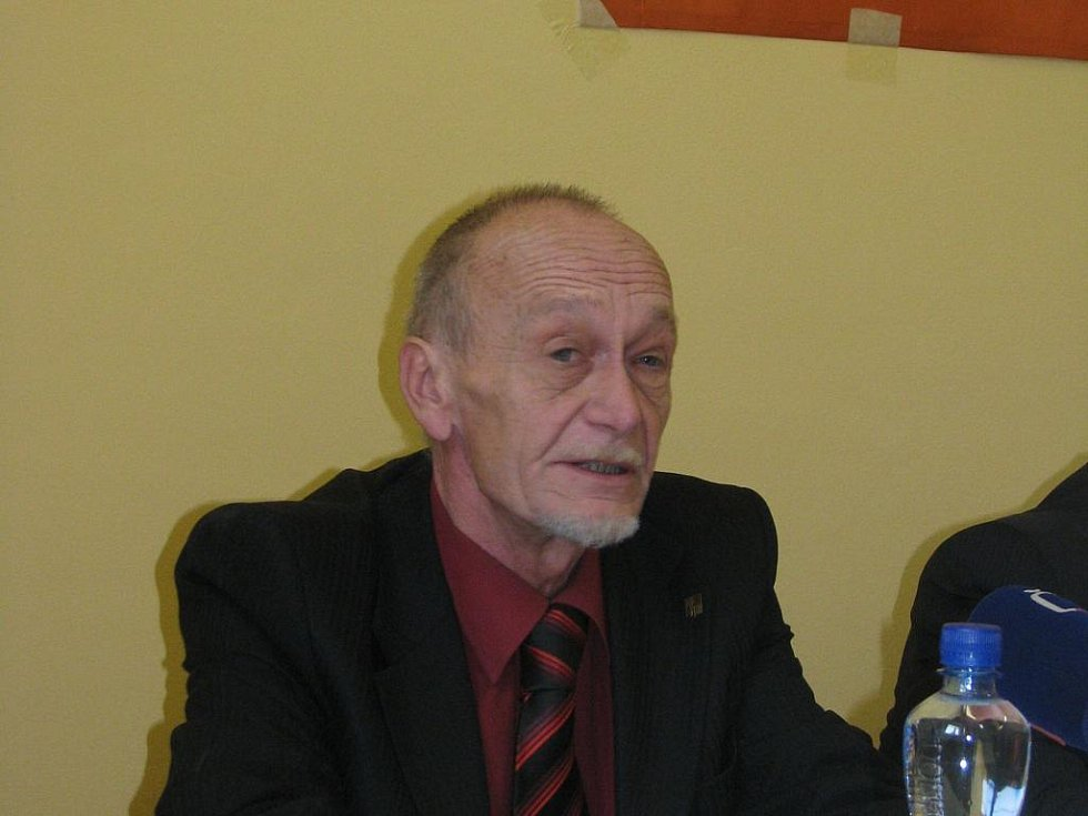 Pustiměřská krajská konference ČSSD - Václav Božek