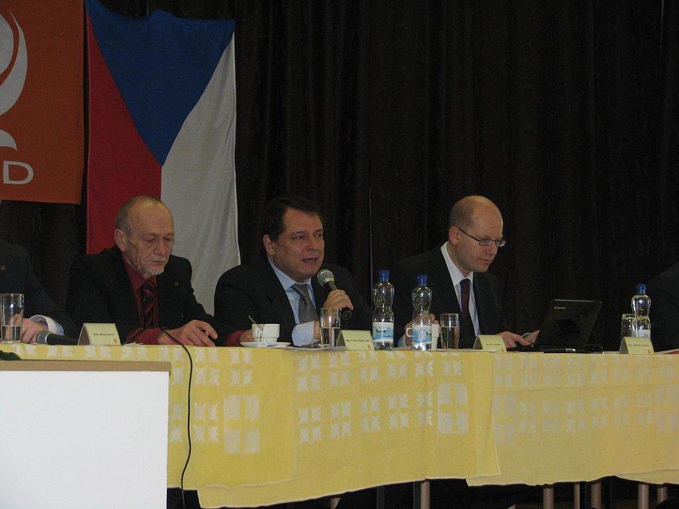 Pustiměřská krajská konference ČSSD