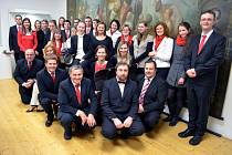 Vokálně-instrumentální soubor Collegium Musicale Bonum.
