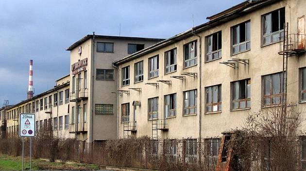 Bývalý areál UP Bučovice.