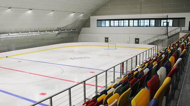 Vyškovský zimní stadion. Ilustrační foto.