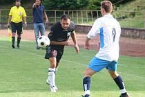 V úvodním kole nového ročníku I.A třídy fotbalisté Slavkova u Brna prohráli doma v okresním derby s Bučovicemi 1:2.