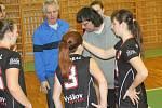 V utkáních první části kvalifikace o postup do extraligy hrály juniorky Vyškova s VSC Zlín 3:2 a 0:3.