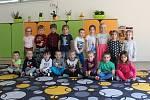 Děti ze třídy Zajíčci z MŠ Drnovice.