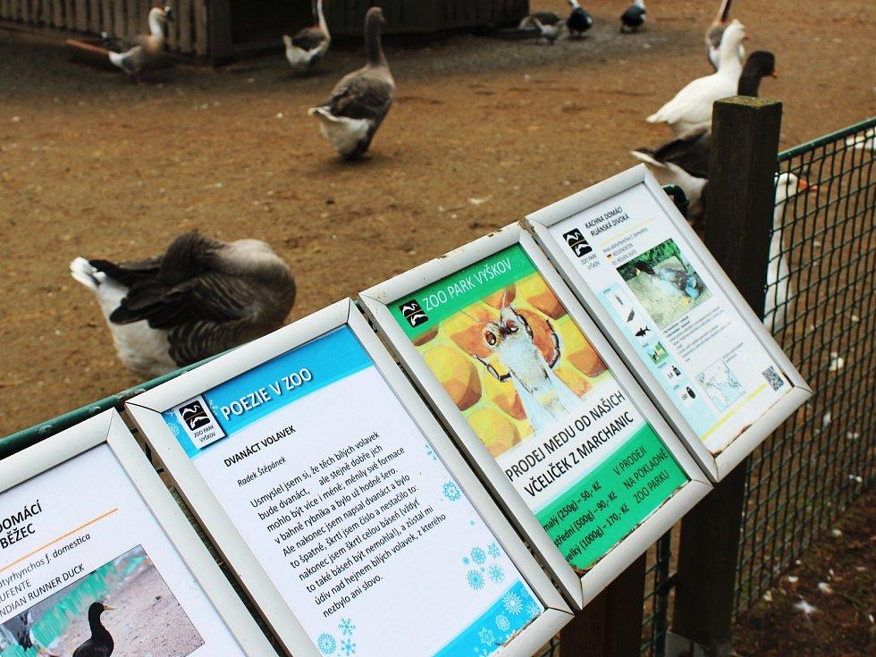 Vyškovský zoopark. Ilustrační foto