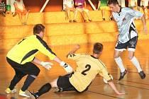 Ve finále krajského poháru futsalu Jihomoravského hraje vyhrál Helas Brno ve Vyškově nad místním FC Pivovar 4:2.
