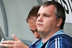Ani Petru Kalouskovi se nepodařilo zastavit pokles fotbalistů fotbalistů Tatranu Rousínov.