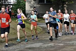Svatováclavský běh v Blažovicích.