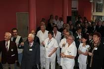 Letos uplynulo už šedesát let od doby, kdy vyškovská nemocnice ošetřila první pacienty.