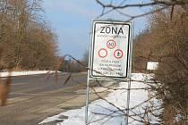 Vojenský újezd Březina. Ilustrační foto.
