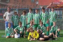 Soubor dvanáctiletých talentů  Okresního fotbalového svazu Vyškov dokázal na posledním turnajovém klání uspět a po finálovém vítězství s Břeclaví se mohl radovat z prvního místa.
